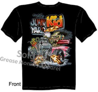 SIZE Medium Junk Yard Kid Rat Fink T Shirt Big Daddy T Hot Rod Ed Roth Tee