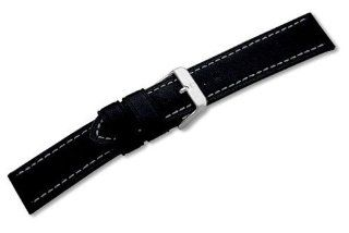 Genuine Swiss Army Alpnach Large Black Leather Strap at  Men's Watch store.