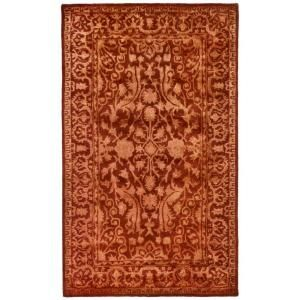 Safavieh Silk Road Rust 4 ft. x 6 ft. Area Rug SKR213E 4
