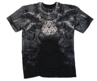 Archaic by Affliction 'Furnace' Short Sleeve Men's Tee Shirt (3XL) (Black) at  Men�s Clothing store
