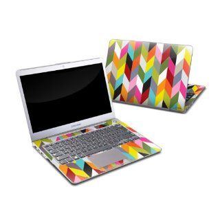 Ziggy Condensed Design Protective Decal Skin Sticker for Samsung Series 5 13.3 inch Ultrabook PC 530U38 A01 Computers & Accessories