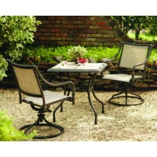 Hampton Bay Andrews 3 Piece Patio Bistro Set T03F2U0Q0114R