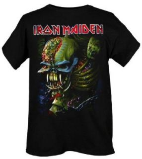 Iron Maiden The Final Frontier Slim Fit T Shirt Size  Medium Music Fan T Shirts Clothing