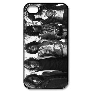 Custom The Rolling Stones Cover Case for iPhone 4 WX5862 Cell Phones & Accessories