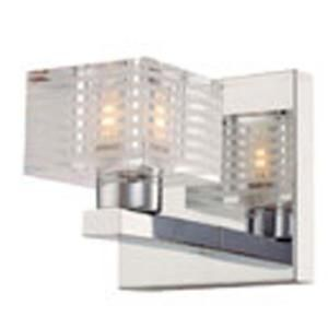 Filament Design Spectra 1 Light Chrome Halogen Wall Vanity CLI CO46061773