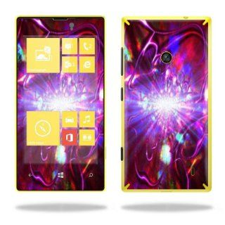Protective Vinyl Skin Decal Cover for Nokia Lumia 520 Cell Phone T Mobile Sticker Skins Crimson Trip Computers & Accessories