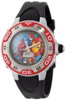 Marvel Comics Kids' MA0108 D537 Red Marvel Super Hero Squad Spectrum Watch Watches
