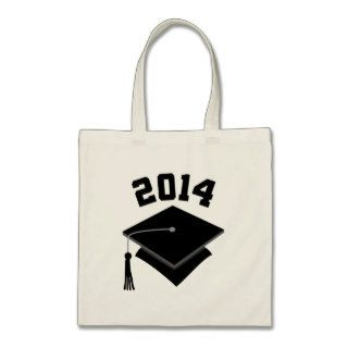 Graduation Gift Class of 2014 Canvas Bags