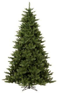 10' Pre Lit Canadian Pine Artificial Christmas Tree   Clear Lights   Palm Plant Potted Storage