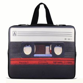 "Cassette Tape 13"" 13.3"" inch Notebook Laptop Case Sleeve Carrying bag with Hide Handle for Apple Macbook pro 13 Air 13/ Samsung 900X3 530 535U3/Dell XPS 13 Vostro 3360 inspiron 13/ ASUS UX32 UX31 U36 X35 /SONY SD4/ThinkPad X1 L330 E330 Computers"