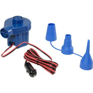 SOLSTICE 12V Inflator Electric Air Pump   Size 12, Blue