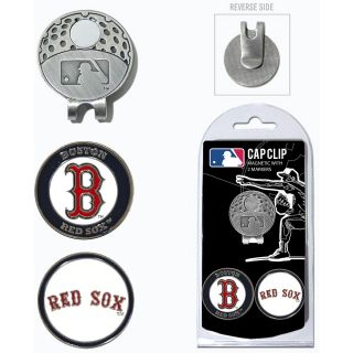 Team Golf MLB Boston Red Sox 2 Marker Cap Clip (637556953476)