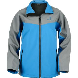 Lucky Bums Youth Storm King Soft Shell Jacket   Size XS/Extra Small, Blue