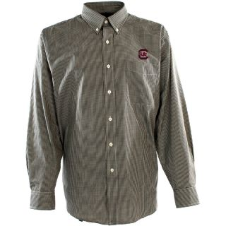 Antigua Mens South Carolina Gamecocks Focus Cotton/Polyester Woven Mini Check