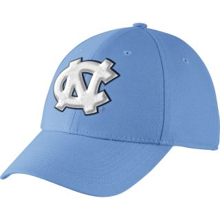 NIKE Mens North Carolina Tar Heels Dri FIT Swoosh Flex Cap, Lt.blue
