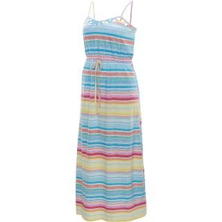 RIP CURL Womens Sun Dip Maxi Dress   Size Large, Vanilla