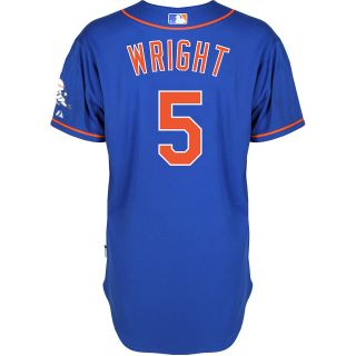 Majestic Athletic New York Mets David Wright Authentic Alternate Home 2 Royal