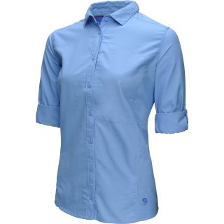 MOUNTAIN HARDWEAR Womens Canyon Long Sleeve Shirt   Size Xl, Bluestreak