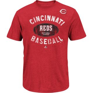 MAJESTIC ATHLETIC Mens Cincinnati Reds League Legend Short Sleeve T Shirt
