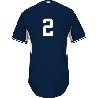 Majestic Athletic New York Yankees Derek Jeter Authentic Home Cool Base Batting