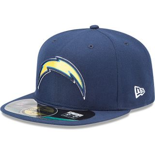 NEW ERA Youth San Diego Chargers Official On Field 59FIFTY Fitted Hat   Size 6.