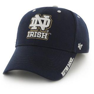 47 BRAND Mens Notre Dame Fighting Irish Frost Structured Adjustable Cap