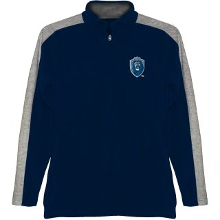 T SHIRT INTERNATIONAL Mens Old Dominion Monarchs BF Conner Quarter Zip Jacket