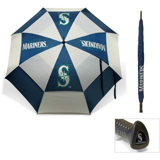 Team Golf MLB Seattle Mariners 62 Inch Double Canopy Golf Umbrella