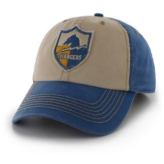 47 BRAND Mens San Diego Chargers Legacy Blue Yosemite Clean Up Adjustable Cap