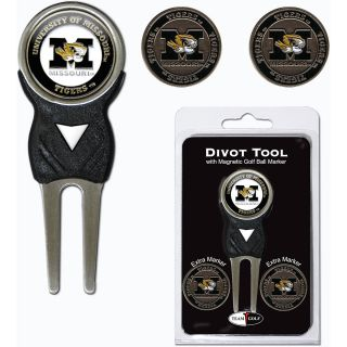 Team Golf University of Missouri Tigers 3 Marker Signature Divot Tool Pack