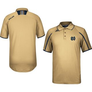adidas Mens Notre Dame Fighting Irish Sideline Alternate Color Polo Shirt