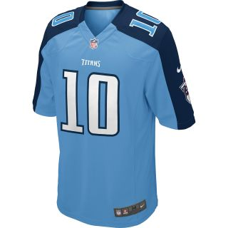 NIKE Youth Tennessee Titans Jake Locker Game Team Color Jersey   Size Small