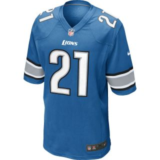 NIKE Mens Detroit Lions Reggie Bush Game Team Jersey   Size 2xl, Battle Blue