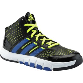 adidas Boys Payoff Basketball Shoes   Size 7, Black/royal