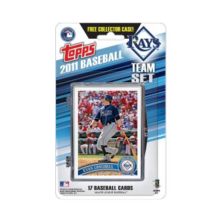 Topps 2011 Tampa Bay Rays Official Team Baseball Card Set of 17 Cards in