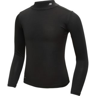 NEW BALANCE Girls True Base Solid Long Sleeve Mock Neck Shirt   Size Medium,