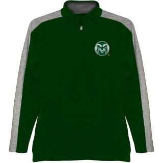 T SHIRT INTERNATIONAL Mens Colorado State Rams BF Conner Quarter Zip Jacket