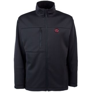 Antigua Mens South Carolina Gamecocks Traverse Fleece Back Full Zip Jacket