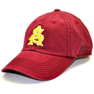 Top of the World Arizona State Sun Devils Crew Adjustable Hat   Size