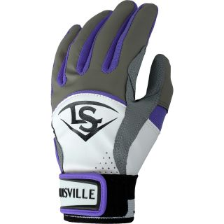 LOUISVILLE SLUGGER Diva Youth Softball Batting Gloves   Size Large, Hot Purple
