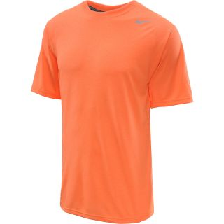 NIKE Mens Dri FIT Legend Short Sleeve Tee   Size Xl, Atomic Orange/carbon