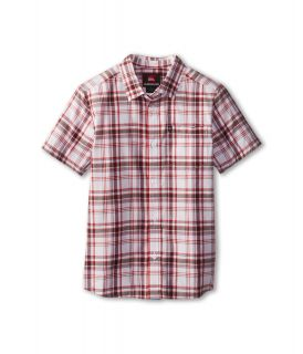 Quiksilver Kids Engineer Pat S/S Button Up Boys Short Sleeve Button Up (Multi)