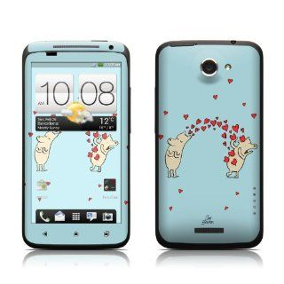 Heart Attack Design Protective Skin Decal Sticker for HTC One X Cell Phone Cell Phones & Accessories