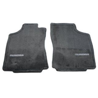 2001 05 TOYOTA TUNDRA 2 PC DARK CHARCOAL CARPET FRONT FLOOR MATS PT548 34030 12 Automotive