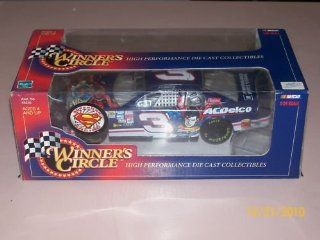 1998 Dale Earnhardt Jr #3 AC Delco Superman Diecast Car 124 1/24 Scale Winners Circle Toys & Games