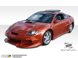 2000 2005 Mitsubishi Eclipse Duraflex Vader Body Kit   4 Piece   Includes Vader Front Bumper Cover (102328) Bomber Rear Bumper Cover (100116) Bomber Side Skirts Rocker Panels (100117) Automotive