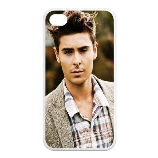 PhoneCaseDiy Custom Protective Cases Hot Movie Star Zac Efron Case For Iphone 4 4s With Durable TPU Sides Ip4 AX52711 Cell Phones & Accessories