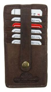 New High End Leather Business & Credit Card Case Holder #538CF at  Men�s Clothing store