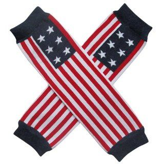 Patriotic 4th of July USA American Flag Stripe   Leg Warmers   for my Infant, Baby, Toddler, Little Girl or Boy  Infant And Toddler Leg Warmers  Baby