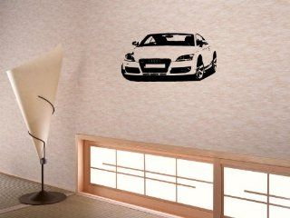 Wall Decor Sticker Mural Decal Baby KID Room for boys Car Audi 561_tt